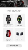 screenshot of Galaxy Watch Plugin
