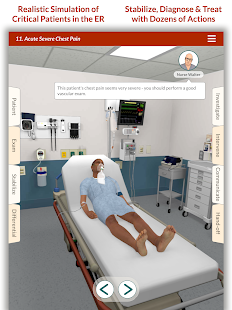 Full Code - Emergency Medicine Simulation Screenshot