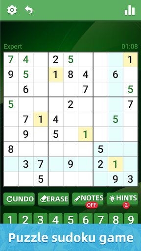 Sudoku Classic Puzzle - Casual Brain Game 2.8 screenshots 1