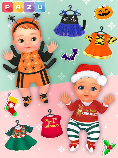 Chic Baby 2 - Dress up & baby care games for kids  screenshots 15