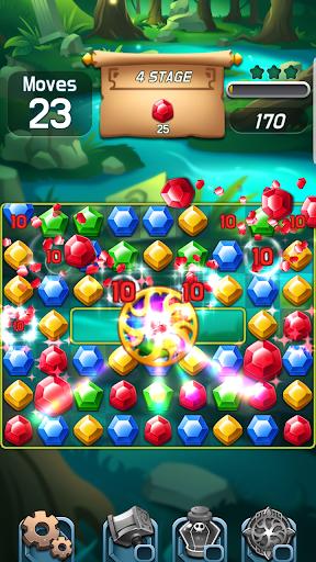 Jewels Palace: World match 3 puzzle master apkslow screenshots 8