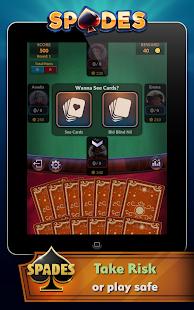 Spades - Offline Free Card Games screenshots 17