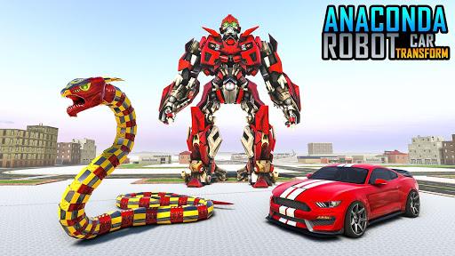 Anaconda Robot Car Games: Mega Robot Games 1.9 screenshots 3
