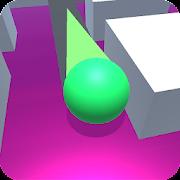 Roller Splash 3d : Split ball paint and roll sky