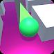 ローラースプラッシュは、3D:スプリットボールペイントとロールの空 - Androidアプリ