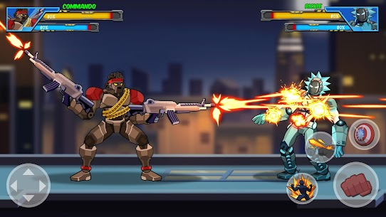 Robot Super Mod Apk: Hero Champions (UNLOCKED HEROES) 2