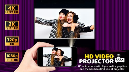 HD Video Projector Simulator apktram screenshots 3
