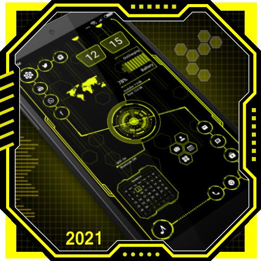 Visionary Launcher 2020 - App Lock, Hi-tech na