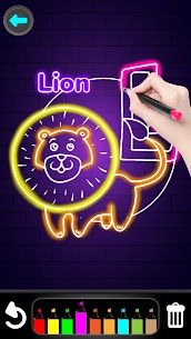 Glitter Number and letters coloring Book for kids Apk 4