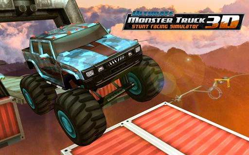 Ultimate Monster Truck: 3D Stunt Racing Simulator apkpoly screenshots 11