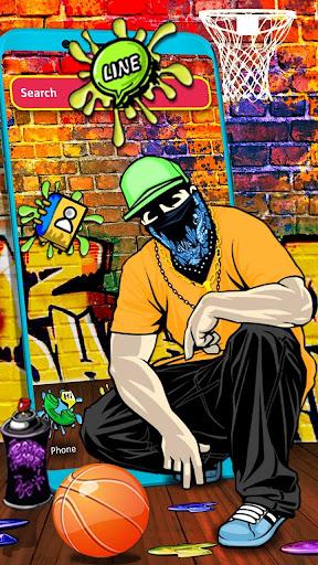 graffiti, pop, boy themes & live wallpapers screenshot 1