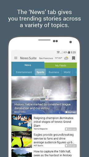 News Suite by Sony 5.2.23.30.1 screenshots 2