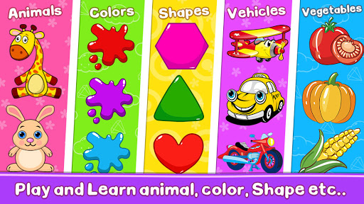 Toddler Learning Games for 2-5 Year Olds screenshots 8