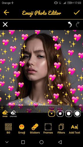 Emoji Background Photo Editor & Emoji Wallpaper ud83dudc9b 6.3 Screenshots 1