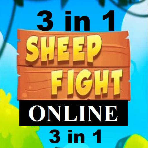 Télécharger Gratuit Sheep Fight & Online Games free - 3 in 1 mod apk screenshots 1
