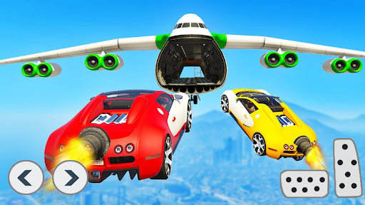 Superhero Car Stunts - Racing Car Games screenshots 3