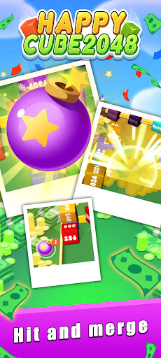 Happy Cube 2048 - merge 3D cube  screenshots 5
