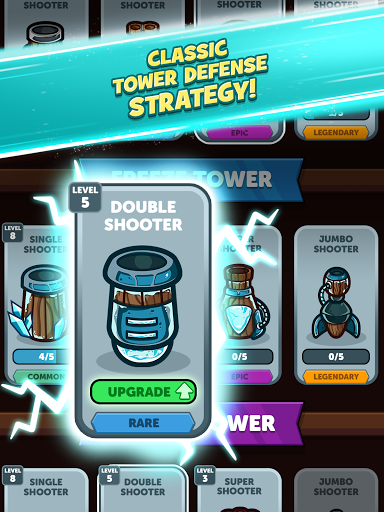Merge Kingdoms - Tower Defense apkpoly screenshots 19