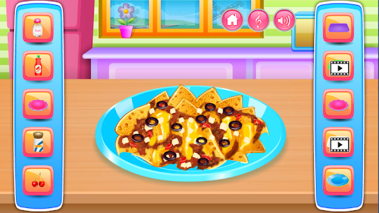 Free Cooking in the Kitchen – Baking games for girls 2