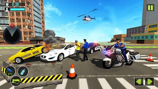 US Police Motor Bike Gangster Chase Games Apk Son Sürüm 2021 2