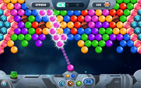 Bubble Storm Invaders