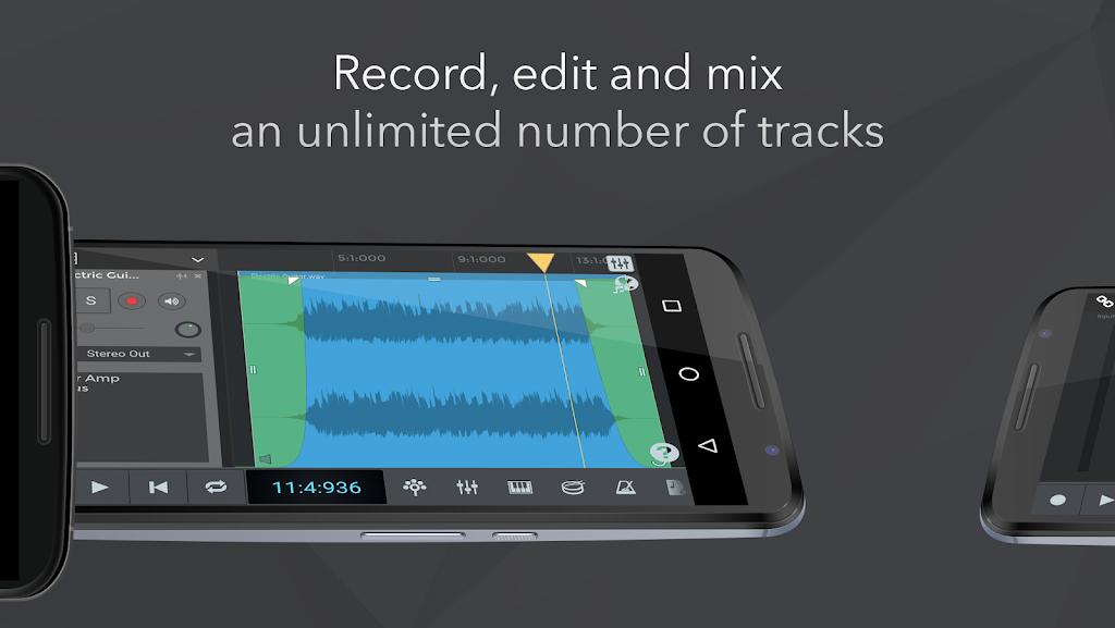 n-Track Studio Pro | DAW poster 1