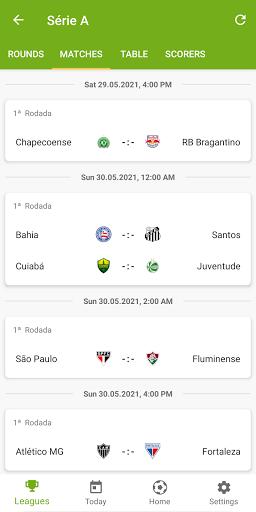 Lance Resultados - Serie A 2021 apktram screenshots 5
