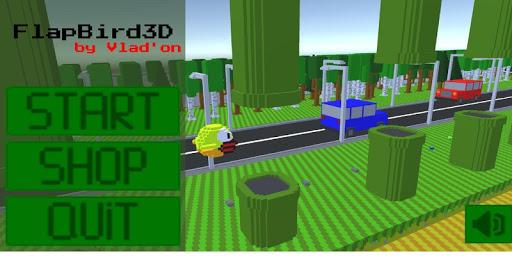 flapbird3d screenshot 1
