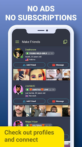 Galaxy - Chat Rooms: Meet New People Online & Date apktram screenshots 4