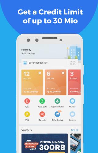 Kredivo - Installment Without Card and Cash Loan  screenshots 1