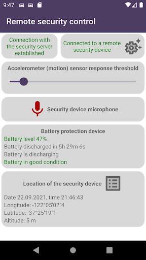 Remote car security screenshot 4