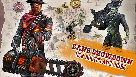 "Download Six-Guns: Gang Showdown action game ""Six Guns"" from Gameloft for Android + data 3"