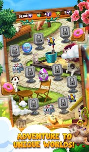 Cool Cats: Match 3 Quest - New Puzzle Game