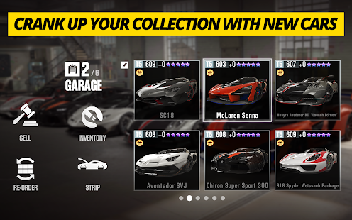 CSR Racing 2 – Free Car Racing Game Screenshot