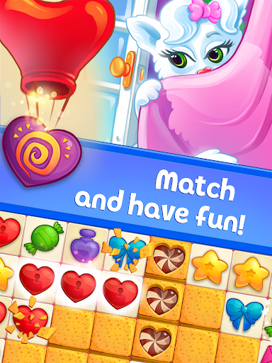 Sweet Hearts - Cute Candy Match 3 Puzzle  screenshots 8