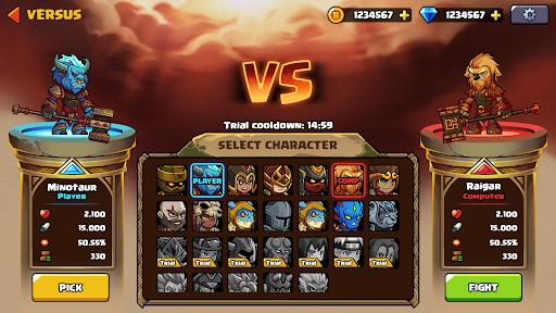 Brawl Fighter - Super Warriors Fighting Game  screenshots 4