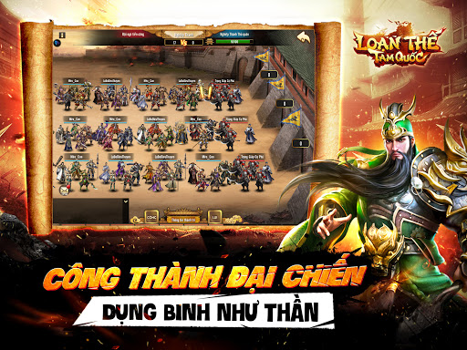 Lou1ea1n Thu1ebf Tam Quu1ed1c - Cu00f4ng Thu00e0nh SLG 1.8 screenshots 11
