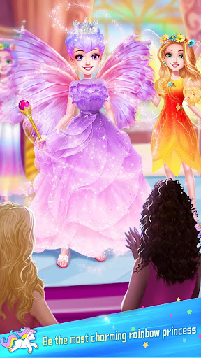 ud83dudc78Rainbow Princess & Unicorn Makeup - Fashion Trip 1.8.5038 screenshots 5