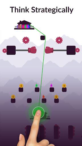 Zipline Valley - Physics Puzzle Game 1.9.4 Screenshots 6