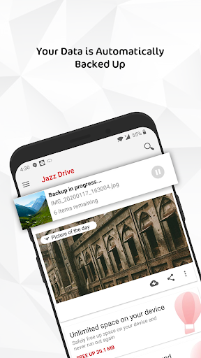 jazz drive - unlimited cloud storage screenshot 1