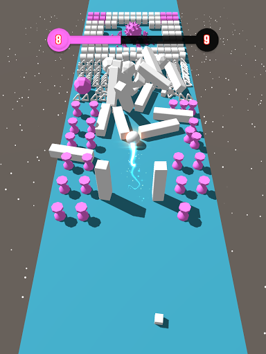 Color Bumb Cross ball crush game bump up the jump 9 screenshots 7