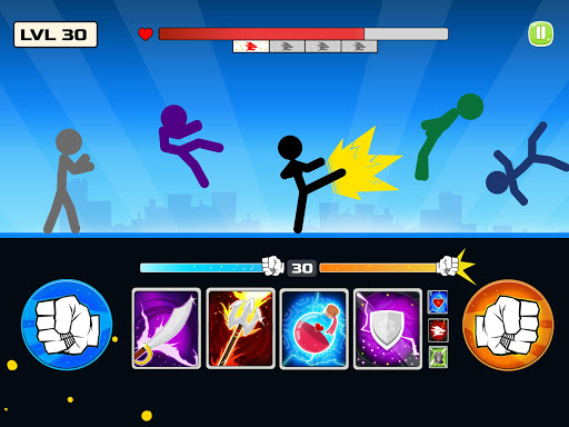 Stickman Fighter : Mega Brawl (stick fight game) 21 screenshots 11