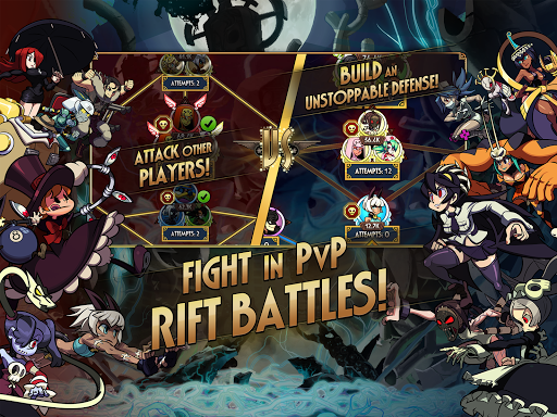 Skullgirls: Fighting RPG 4.5.2 screenshots 11