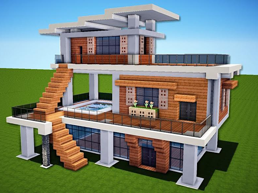 New Modern House for Mineu273fu273fu273fcraft - 500 Top Design 6.7.77 Screenshots 9