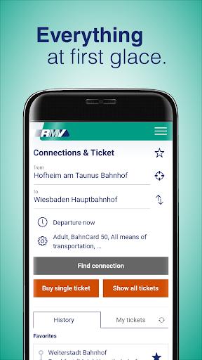 RMV Rhein-Main-Verkehrsverbund 2.10.0 Screenshots 1