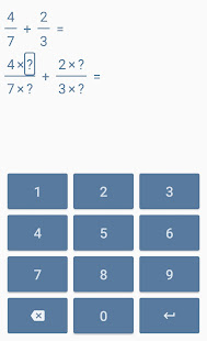 Fraction calculator and Trainings