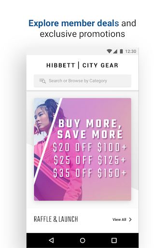 Hibbett | City Gear u2013 Shop Sneakers and Apparel android2mod screenshots 1