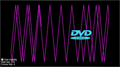 DVD Screensaver Simulator apkslow screenshots 2