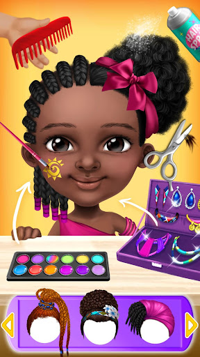 Pretty Little Princess - Dress Up, Hair & Makeup  screenshots 7