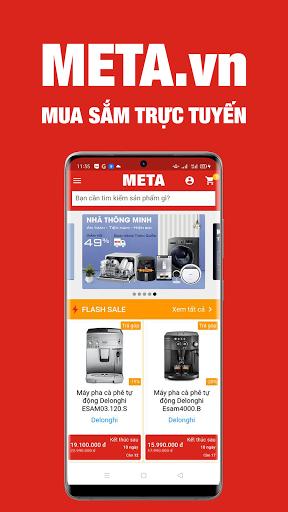 META.vn - Mua sắm trực tuyến 1.0.100 screenshots 1